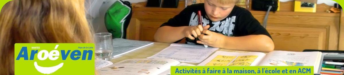 Activités éducatives à faire à la maison, à l'école et en ACM